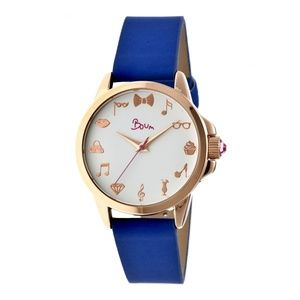 New in Box Boum Rendezvous Blue Watch
